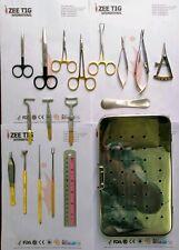 Blepharoplaty instruments set of 17pcs,Eye surgery ,plastic surgery German steel