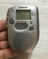 REGISTRATORE VOCALE SONY IC RECORDER ICD-37 AUDIO PORTATILE NO WALKMAN