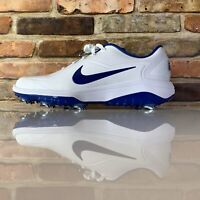 Nike React Vapor 2 White Indigo Force Golf Shoes Men's Size 9.5 BV1135-102