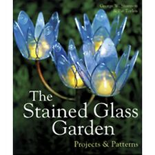 Stained Glass Pattern Book - STAINED GLASS GARDEN