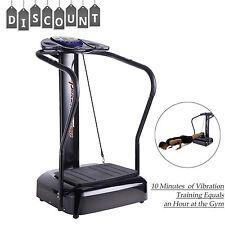 Whole Body Vibration Machine Full Body Exercise Platform Massager 2000W W/straps