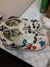 Vans x Disney Authentic Mickey Mouse 90th Birthday Toddler Shoes-Size 5.5 Rare