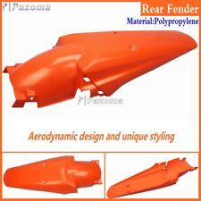 Motorcycle Orange Plastic Rear Fender Fits Honda 83 - 84 XR 500R KTM SMC 625 660