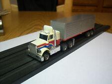 AFX AURORA NOS RARE LIghted PETERBILT truck & Trailer Model Motoring  NEW! SUPER