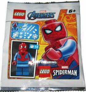 Blue Ocean LEGO Super Heroes Spider-man Minifigure Foil Pack Set 242001 (Bagged)