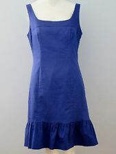 JACOB Size 6 Purple Fully Lined Sleeveless Ruffles Dress (Made in Canada)