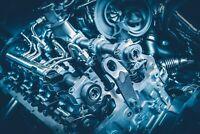 A1 | Vehicle Engine Poster Art Print 60 x 90cm 180gsm Car Mechanic Gift #8796