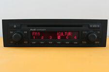 AUDI AUTORADIO CAR RADIO CD PLAYER RADIOANLAGE CONCERT 2 A3 8P + RADIOCODE 8P0