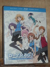 D-Frag: The Complete Series (Blu-ray/DVD, 2015, 4-Disc Set, Limited Edition) NEW