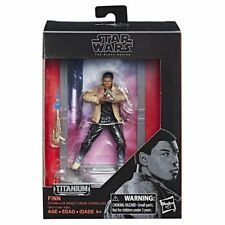 Star Wars 40th Anniversary Die-Cast Titanium Series Figure - Finn, Kid Fan Gift