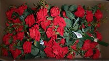 National Imports 55569 Velvet Diamond Red Rose Bundle QTY 18 Branches