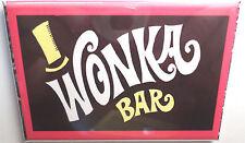 "Wonka Bar Vintage Candy Wrapper 2""x3"" Fridge or Locker MAGNET Box"
