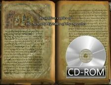 Byzantine copies of the Acts and Epistles of the Apostles 1200 AD Digitized