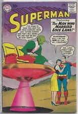 Superman #136 DC 1960 Silver Age Comic Book FN+/VF- (W. Untold Superboy Story)