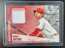2019 Topps Series 1 SHOHEI OHTANI Jersey Patch Relic MLB Material Card #MLM-SO