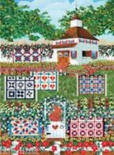Jigsaw puzzle Americana Carriage House Quilts 1000 piece NEW