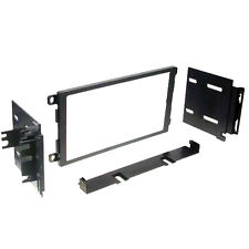 Double DIN Car Stereo Deck In Dash Trim Install Kit Radio Receiver Mount New!