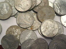 lotto di 50 monete da 5 lire 1948,49,50 tipo UVA mb