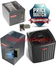 3 Ton 18 Seer 2 Stage Heat Pump VERTICAL DSZC180361+MBVC1600+CAPF3743C6+Heat+UV