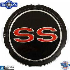 "65-69 Chevrolet "" SS ""  models Hub Cap Wheel Cover Center Emblem Insert - USA"