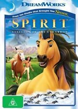 SPIRIT: Stallion Of The Cimarron DVD BEST Animated FILM HORSE Movie BRAND NEW R4