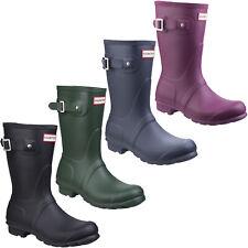 Hunter Original Short Wellington Boots Womens Waterproof Adjustable Wellies