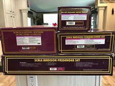 """CNC115 O Scale 1997 MTH N&W """"J"""" 10 Pc set 20-3024-1,20-3126,20-4024,20-4124"""