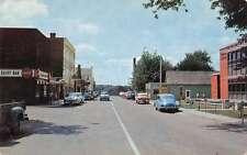 Amherstburg Ontario Canada Richmond Street Vintage Postcard J68661