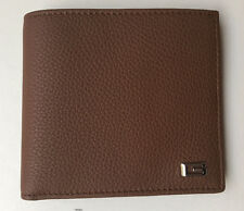 2a1600d3a43 NWT Gucci 150404 Men s Soft Pebble Leather Metal G Wallet