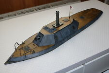 Confederate ironclad Albemarle in scale 1:72 (20mm)