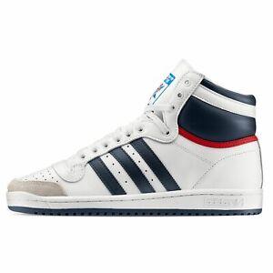 Adidas TOP TEN HI Uomo  Scarpe da Ginnastica Sneakers Bianco