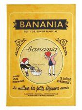 Geschirrtuch Küchentuch Banania Petit Dejeuner Retro Coucke