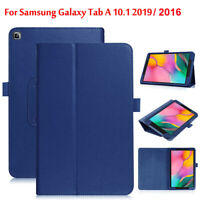 Leather Tablet Stand Flip Cover Case For Samsung Galaxy Tab A 10.1 T510 & T580