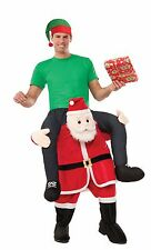 Special Delivery From Piggy Back Riding On Santa Carrying Me Santa Claus Costume