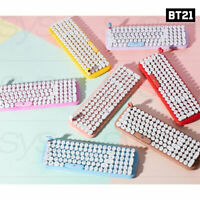 BTS BT21 Official Authentic Goods Wireless Retro keyboard +Tracking Number