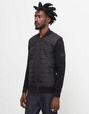 Barbour Jacket XL Black Baffle Zip Through BNWT