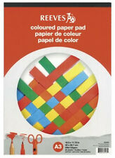 Reeves Artists Coloured Paper Pad - 120gsm - 20 Sheets - A3