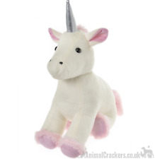 Quality heavy plush white fluffy Unicorn Door stop Children nursery decoration