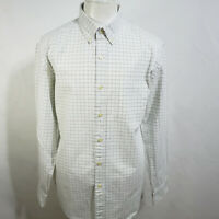 J.CREW MEN'S PLAID COTTON CLASSIC FIT LONG SLEEVE CASUAL SHIRT SIZE L  A51-19