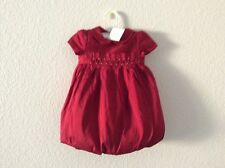 NWT, Beautiful Janie and Jack holiday bubble silk girl's dress, size 12-18 month