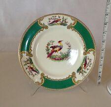 "Myotts Chelsea Bird Unusual Green 9"" Plate"