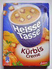 Erasco Heisse Tasse 3 Beutel  Kürbis-Creme