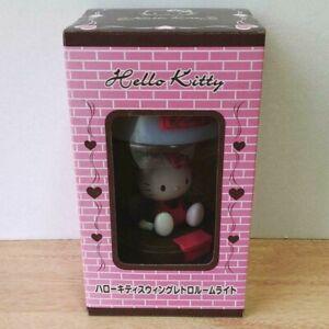 Hello Kitty Sanrio Swing retro Room Light Stand Lamp w/Box Lovely Super Rare F/S