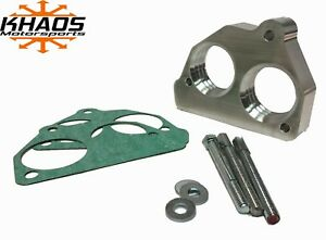 "Khaos Motorsports Helix 2"" Bore Throttle Body Spacer 87-95 Chevy GMC 4.3 5.0 5.7"