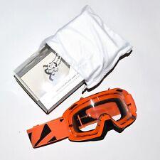 NWT Fox Racing Air Defense Motocross MX Off Road Goggles Orange - scott oakley