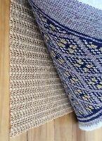 Non Skid Slip Area Rug Pad Underlay NonSkid Pads Carpet Mat Runner - 2X5 FEET