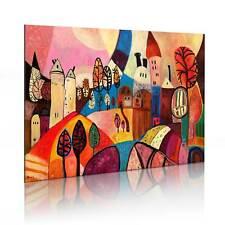 100% Handgemalt – Gemälde / Bilder Leinwand 1 Teilig Abstrakt 90x60 5621_MK