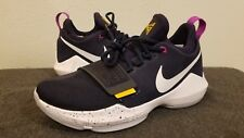 Nike PG 1 Mens 878627-417 'OBSIDIAN/WHITE-UNIVERSITY GOLD' Basketball sz 7.5