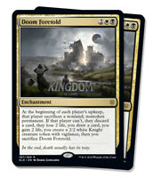 2x Doom Foretold - Throne of Eldraine - Playset - NM - English - MTG