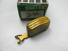 Carter 21-223 Brass Carburetor Float For Carter 1-BBL YF Model Carburetors
